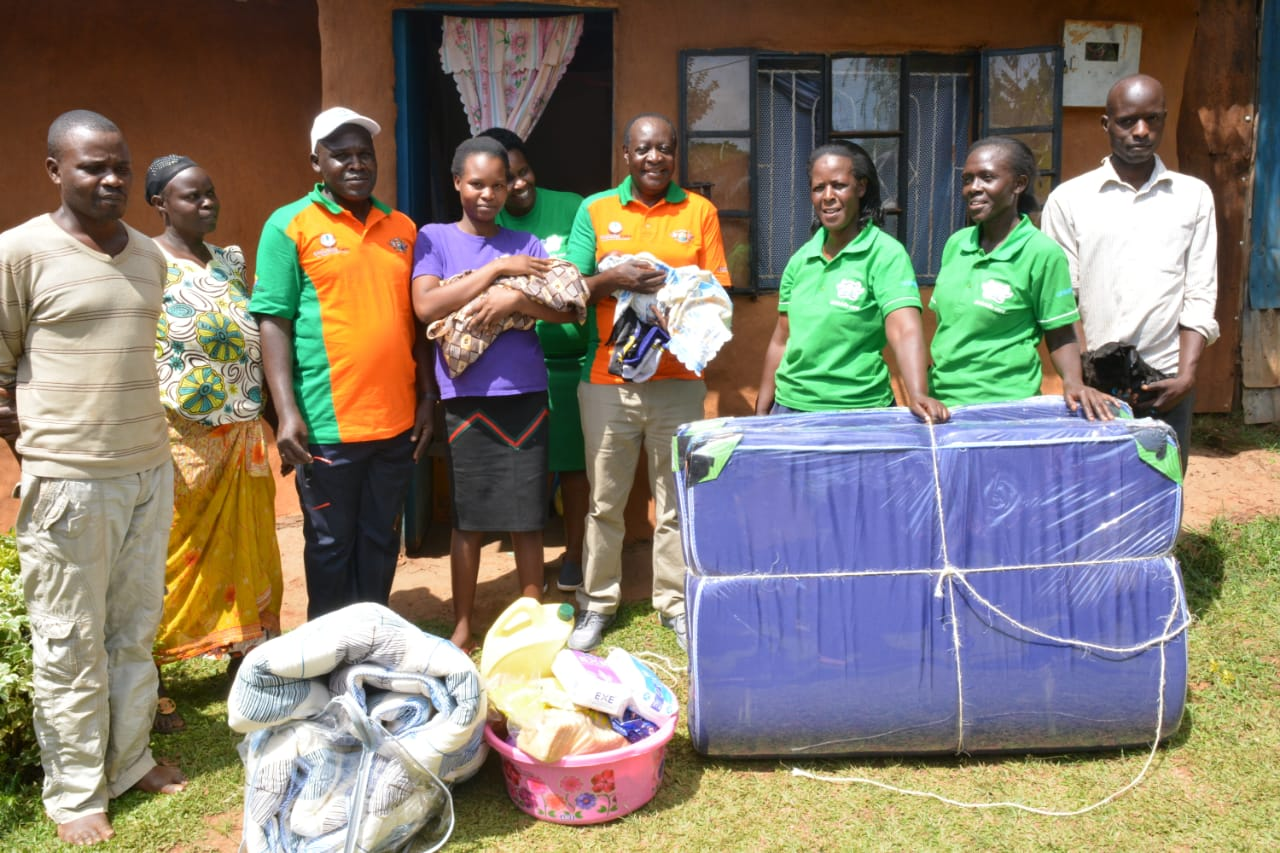 Vihiga Governors Wilber Ottichilo spends Easter with 'New Mothers'
