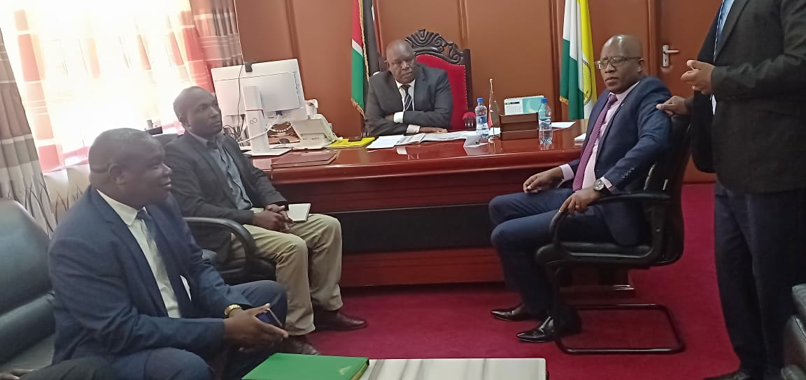 AHADI Consultants Vow to closely work with Nyamira County