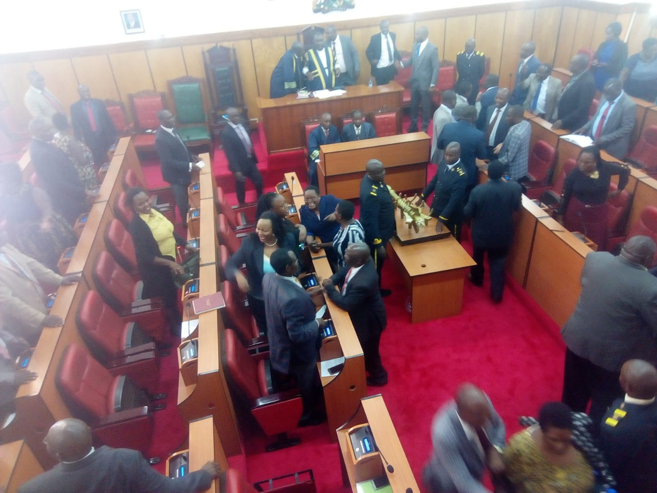 Impeachment heats in Kisii as County boss begin to fight back Probing Committee