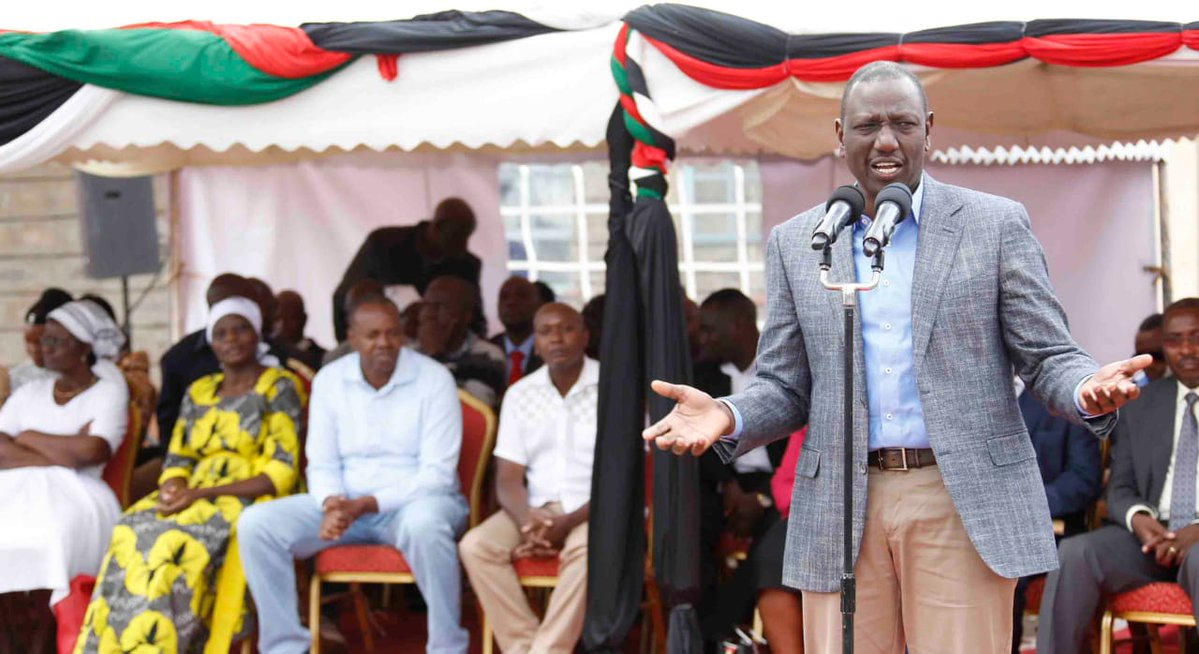 Kenyans roast Dr. Ruto over his remarks on Jubilee Party