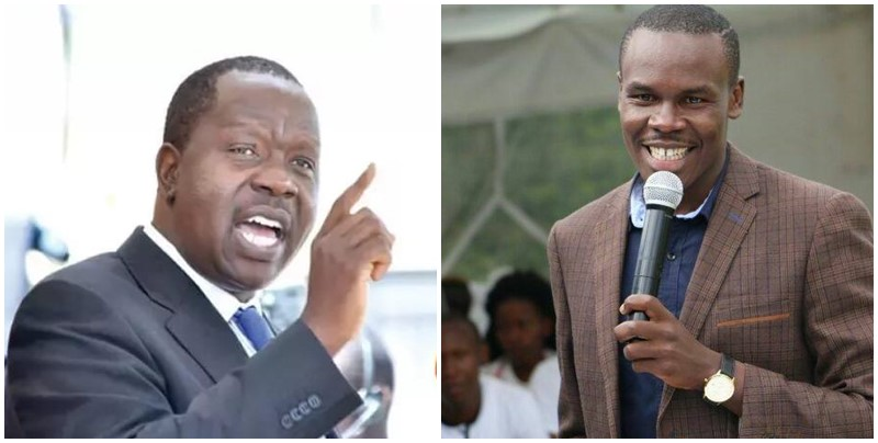 On Saturday in one of the Kisii Political Groups, Osoro accused Matiang'i of not bothering to share Christmas with his villagers.