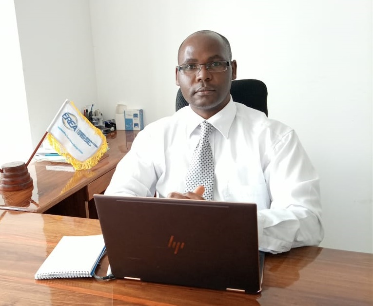 Dr Geoffrey Mabea in his office in Arusha, Tanzania. Photo/Courtesy