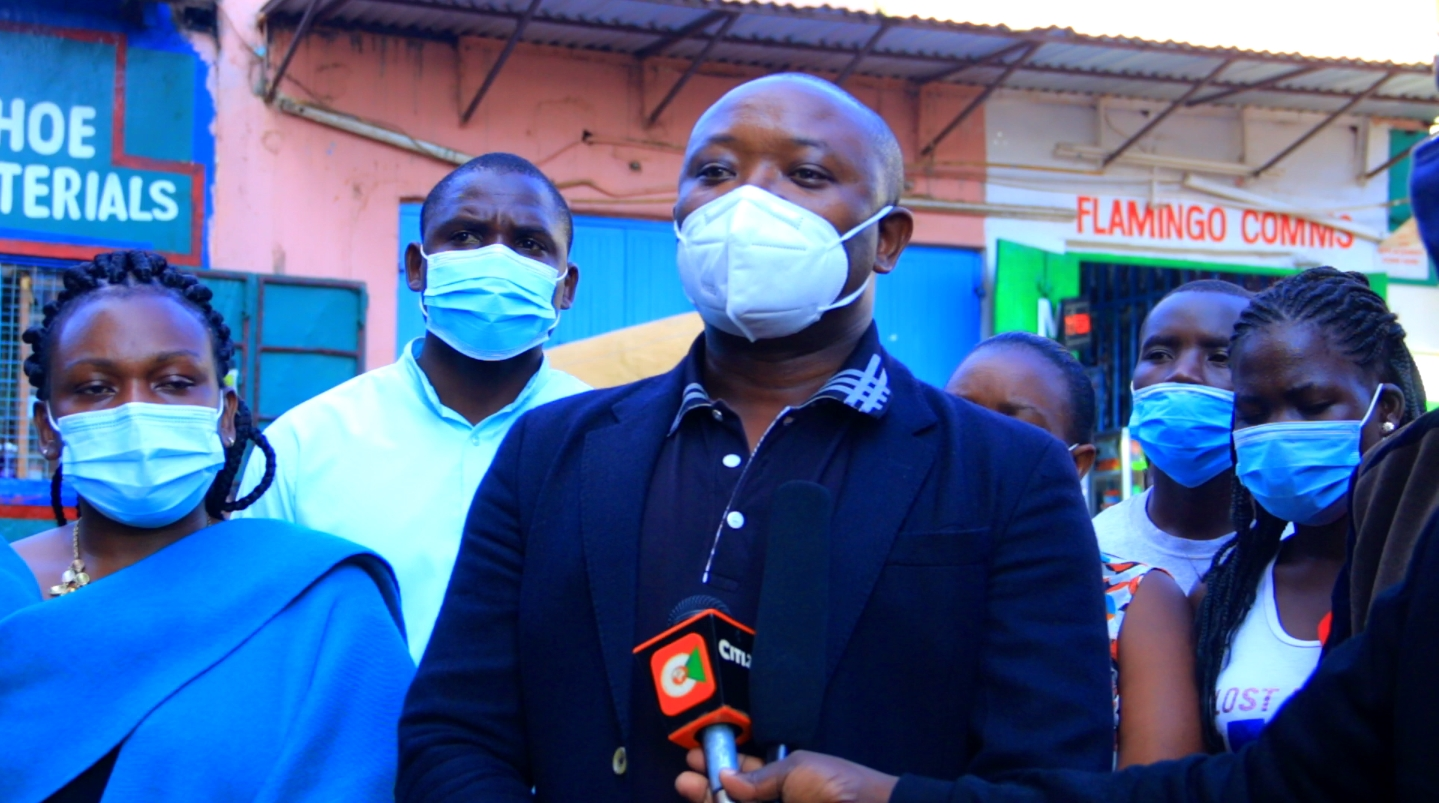 Kisii County Director of Public Health Dr. Richard Onkware Photo/Rogers
